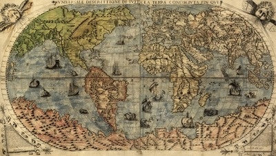 Map of the World - 1565