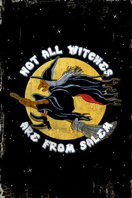 Massachusetts - Not All Witches Are From Salem