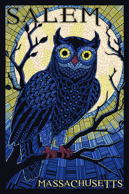 Massachusetts - Salem - Owl Mosaic