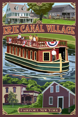 New York - Erie Canal Village