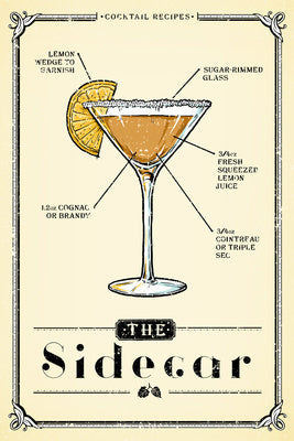 Prohibition Cocktail Recipe - Sidecar