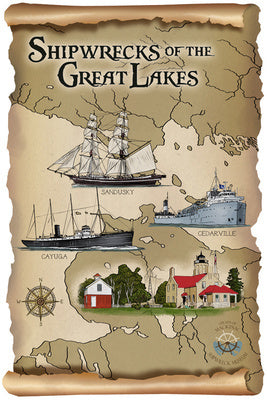 Shipwrecks of the Great Lakes