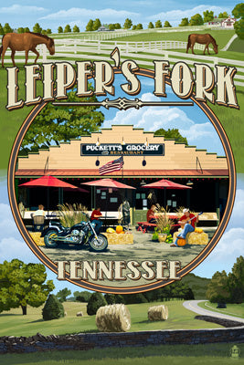 Tennessee - Leiper's Fork Montage
