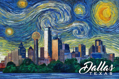 Texas - Dallas - Starry Night