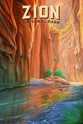 Utah - Zion National Park - The Narrows