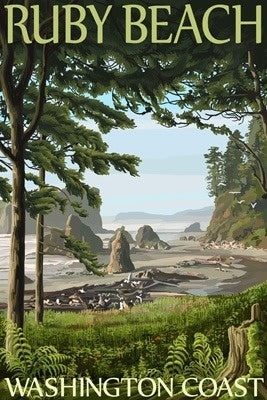 Washington - Ruby Beach