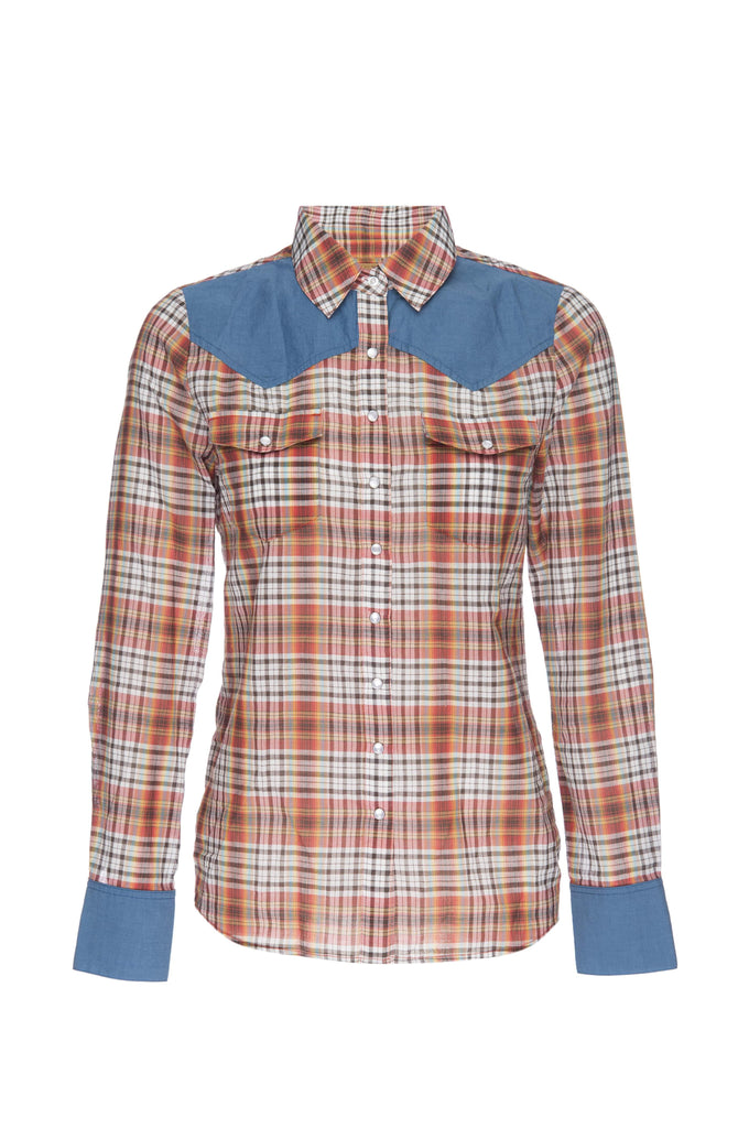 GW112C Denim Saddle Shirt