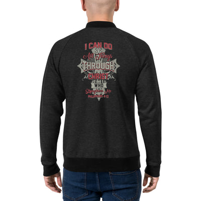 I Can Do All Things Things Through Christ Who Strengthens Me Men's Bomber Jacket