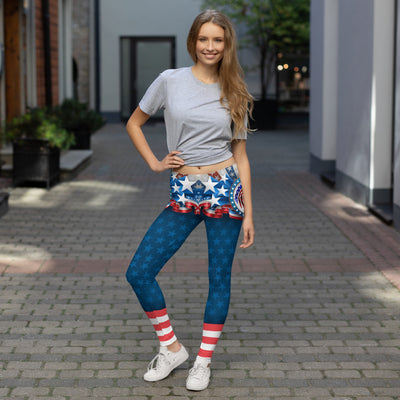 Stars And Eagles Women's Leggings Main