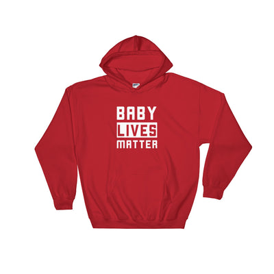 Baby Lives Matter Men's Hoodie Red