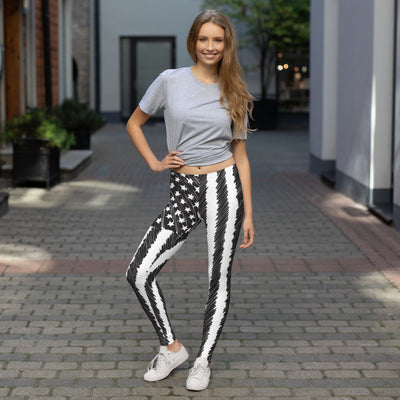 Sketched Flag Women's Leggings Main