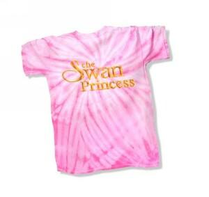 Swan Princess T-shirt, Women's Pink Large