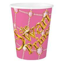 Swan Princess Paper Party Cup