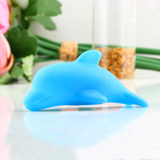 2017 Popular Baby Kids Bath LED Dolphin Light Lamp Lovely Toy Colorful Flashing Changing