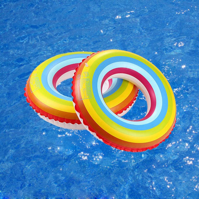 Swim ring Swimming lap Inflatable adult men and women children circle Summer Water Fun Pool Swimming float #E0