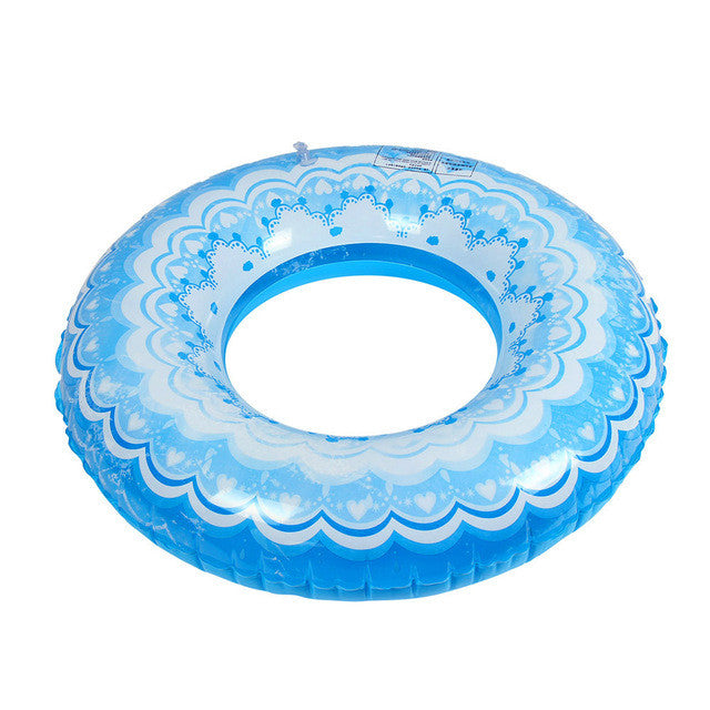 2017 Good Quality Summer Inflatable Swimming Ring Adult And Kids Children Swimming Pool Seaside Swim Train Float Circle #EW