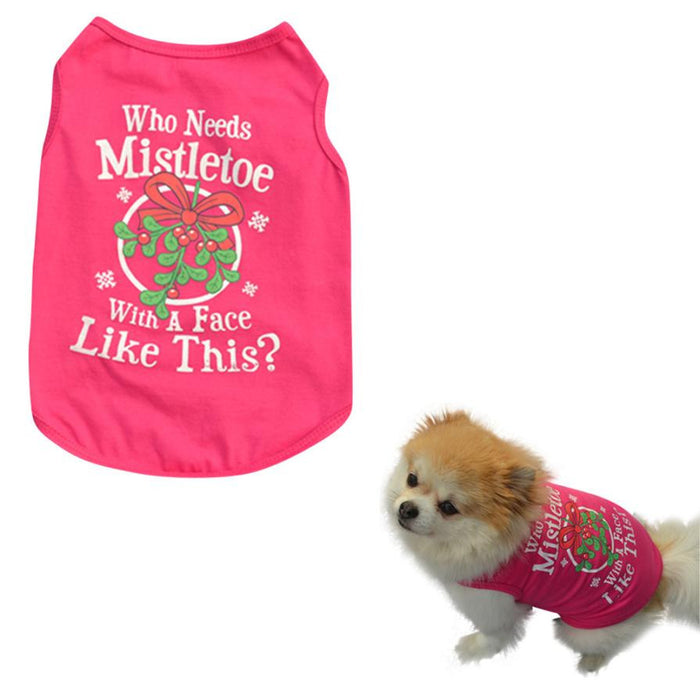 Dog Clothing Vest Summer Wear Dog Clothes Pet Vest Shirts Clothing Clothes Small Dogs For Animals Cats Clothing Ropa Para Perros
