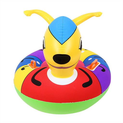 2017 Kids Inflatable Baby Swimming Pool Inflatable Floating Ring Pool Safe Seat Outdoor Fun Living #EW