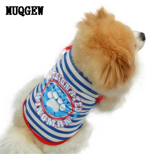 2016 dog clothing clothes summer For Small Large Dog yorkie clothing pet shop Pet Dog Vests Puppy Cat Vest