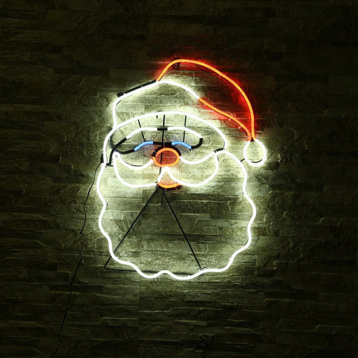 New Neon Sign Night Light Santa Claus Shape Design Room Wall Decorations Home Love Ornament Coffee Bar Mural Crafts