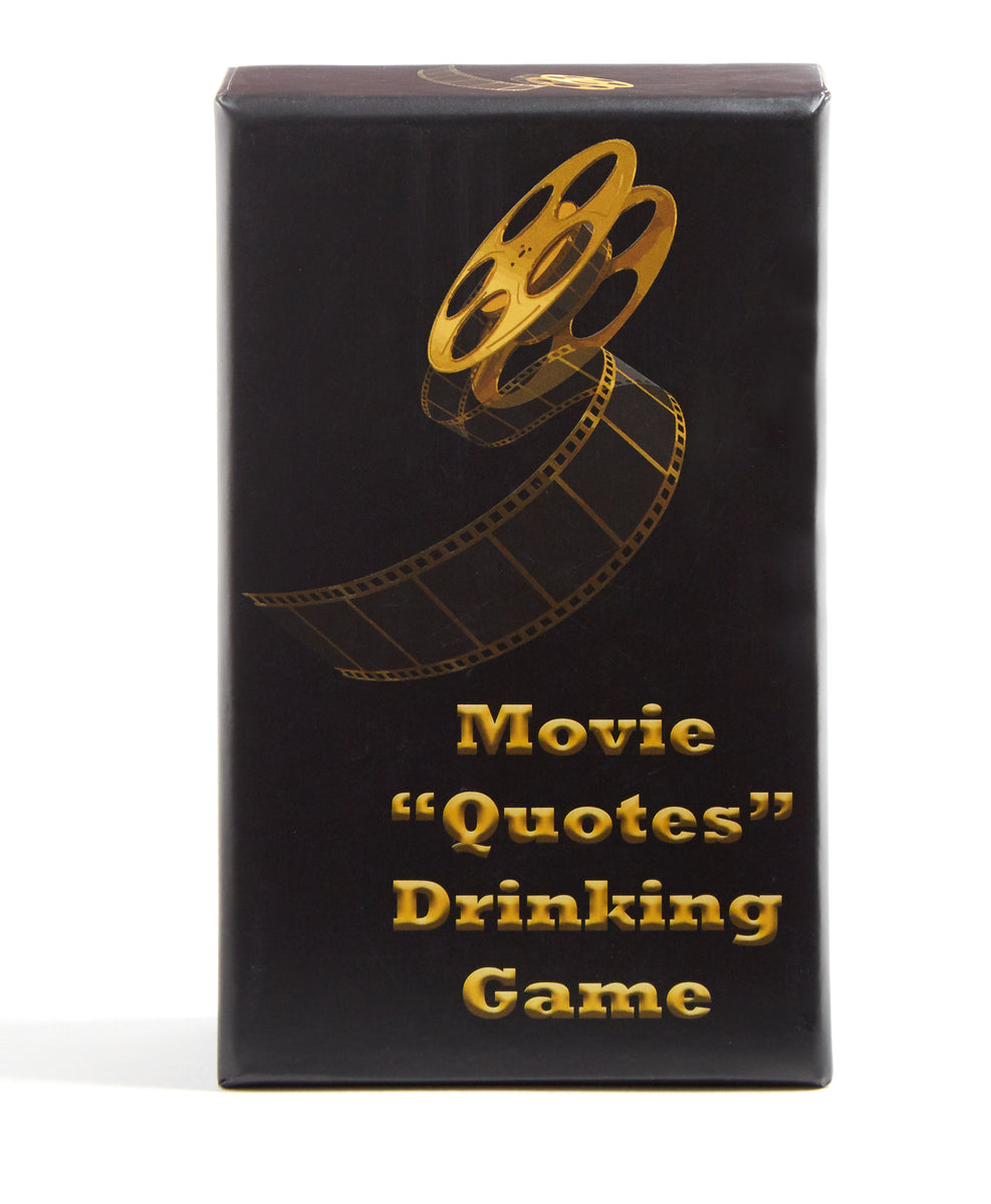 Movie Quotes Drinking Game box