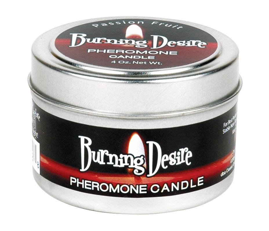 Burning Desire Soy Candle 4 Oz