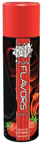 Fun Flavors 4 In 1 Wet Seductive Strawberry