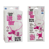 Love Rider Dual Action Strap On Pink
