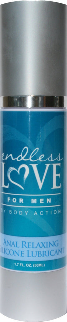 Endless Love For Men Anal Relaxing Silicone Lubricant 1.7 Oz.