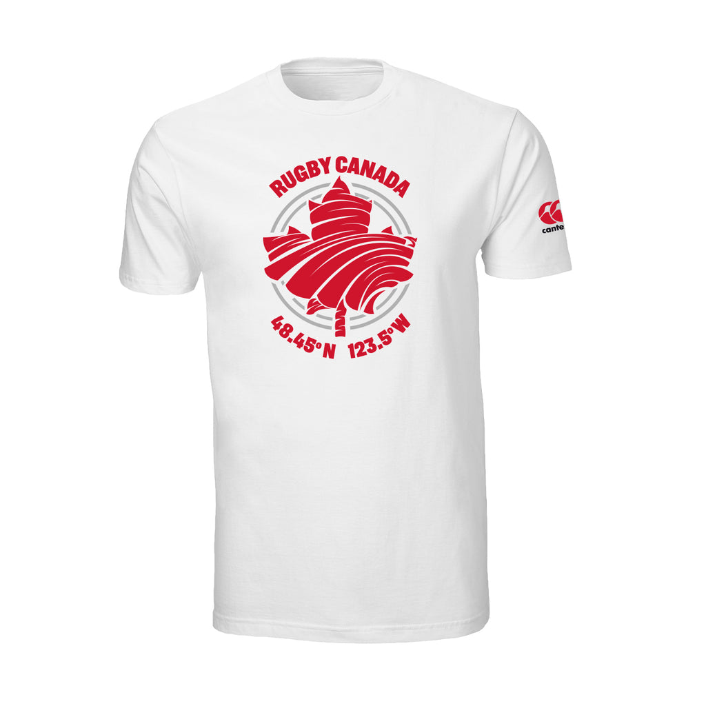 RUGBY CANADA GEO TEE