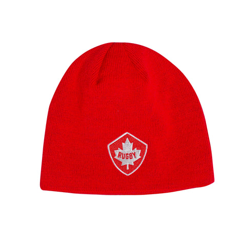 CANADA ACRYLIC FLEECE BEANIE HAT