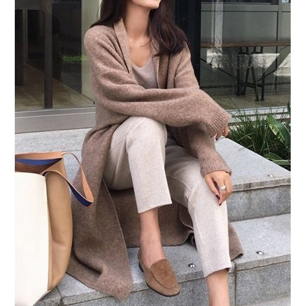 Women's fashion knit cardigan