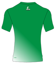 SPARTANS POLYESTER PERFORMANCE TEE (GREEN/WHITE GRADIENT)