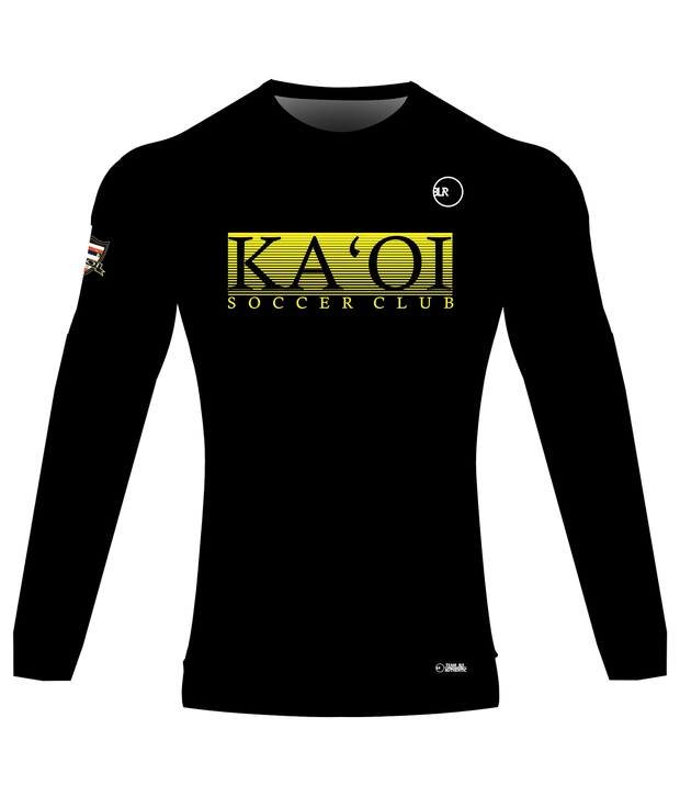 KA'OI SUPPORTER LONG SLEEVE JERSEY (BLACK)