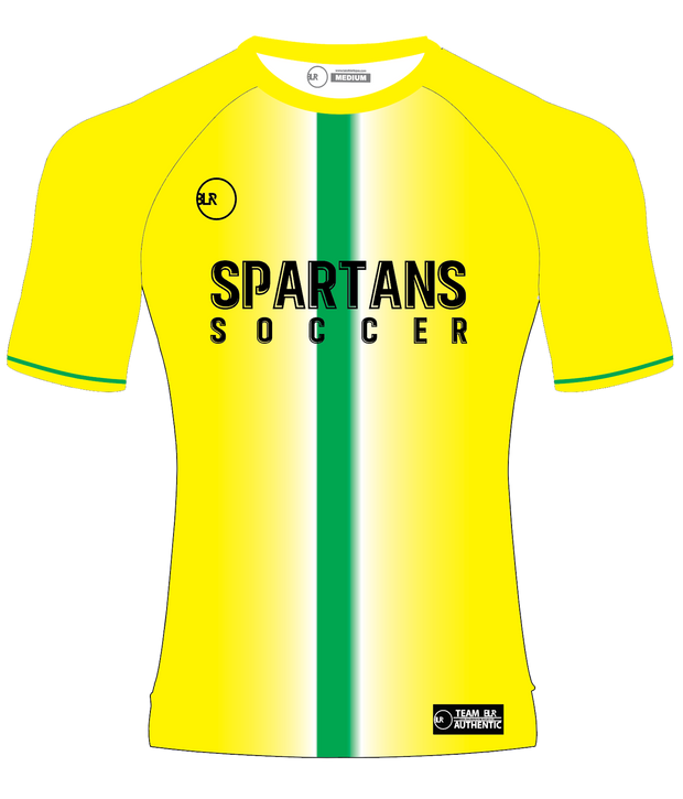 SPARTANS TRAINING JERSEY (NEON YELLOW)