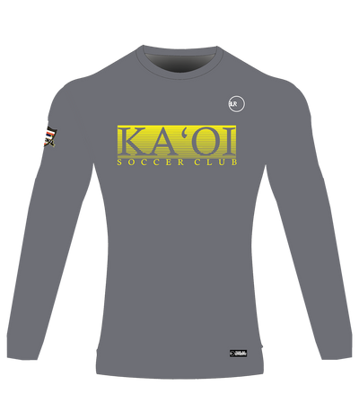 KA'OI SUPPORTER LONG SLEEVE JERSEY (GRAY)