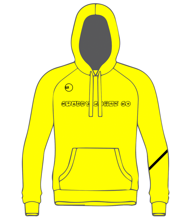 PULLOVER TECH (YELLOW/BLACK)