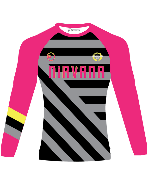 NIRVANA SUPPORTER LONG SLEEVE JERSEY (PINK)