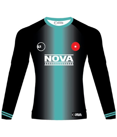 NOVA LONG SLEEVE JERSEY (BLACK)