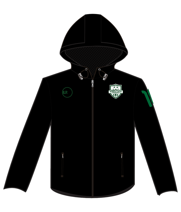 WEBUTUCK WINDBREAKER (BLACK/GREEN)