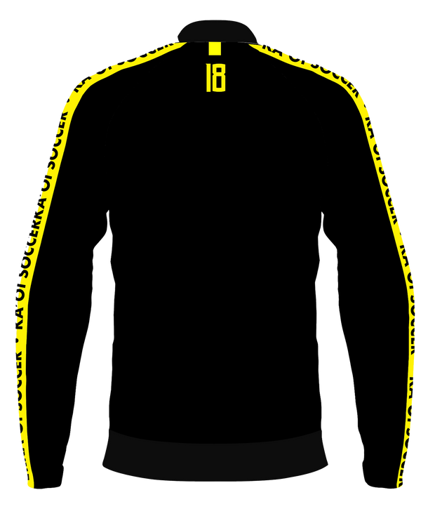KA'OI 1/4 ZIP JACKET (BLACK/NYELLOW)