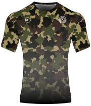 POLYESTER PERFORMANCE TEE (CAMO/BLACK GRADIENT)