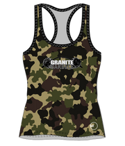 GB WOMEN'S PERFORMANCE RACEBACK TANK (CAMO)
