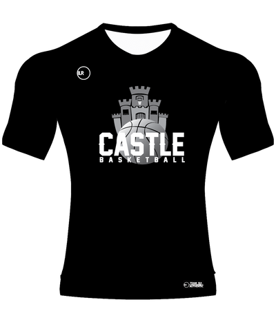 CASTLE SHOOTING SHIRT (SHORT SLEEVE) BASKETBALL JERSEY