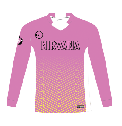 NIRVANA ALTERNATE GOALIE LONG SLEEVE JERSEY