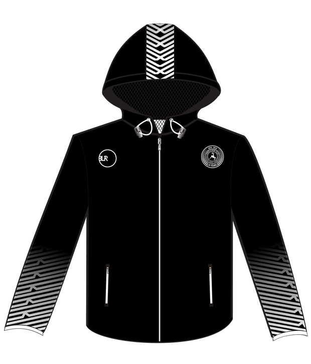 SWEITZER WINDBREAKER (BLACK/WHITE)