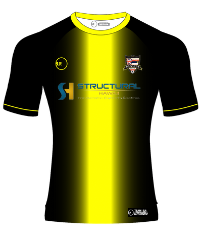 KA'OI SOCCER JERSEY (BLACK/N.YELLOW)
