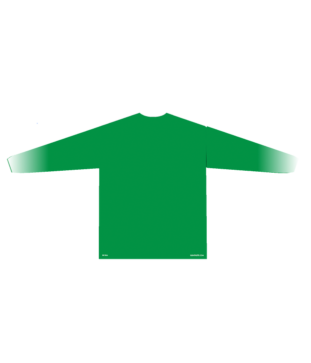 WEBUTUCK POLYESTER PERFORMANCE L/S (GREEN/WHITE GRADIENT)