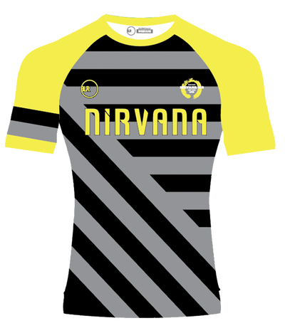 NIRVANA UNISEX CREW NECK SUPPORTER JERSEY (NEON YELLOW)