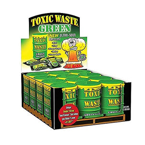 Green Toxic Waste Drum Candy Sweets